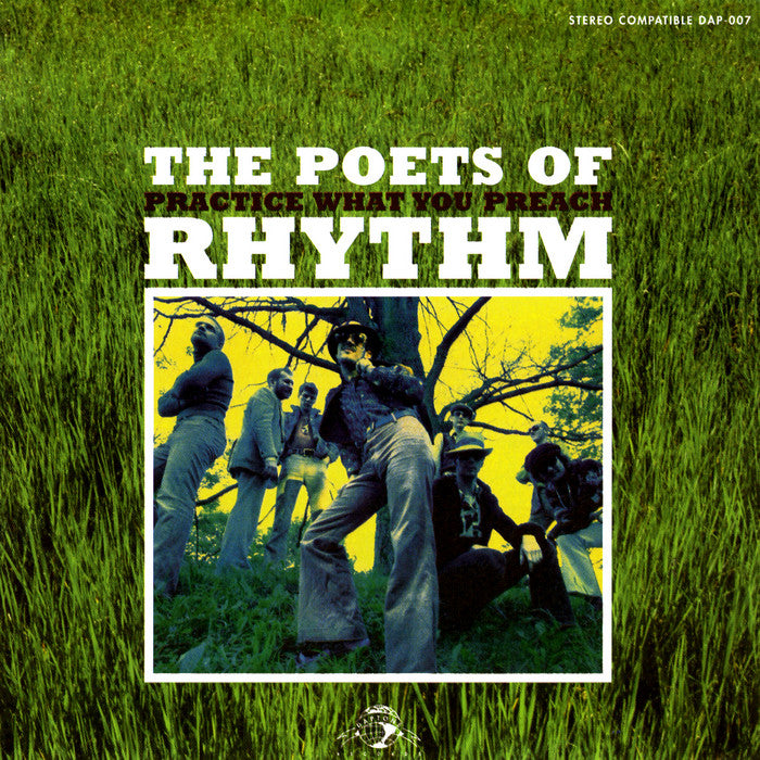 Poets of Rhythm - Practice What You Preach LP (reissue) - The Giant Peach