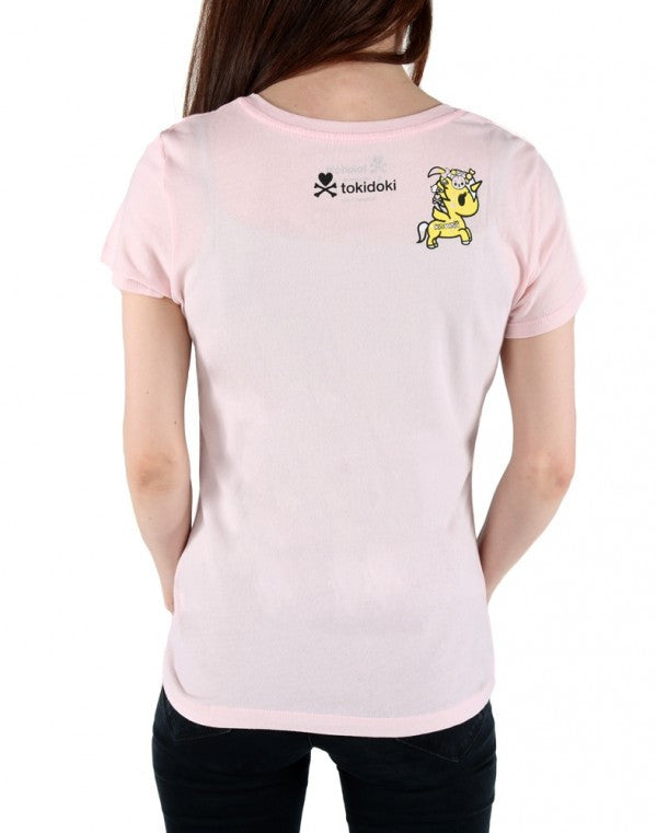 tokidoki - Pretty Harajuku Women's Tee, Pink - The Giant Peach