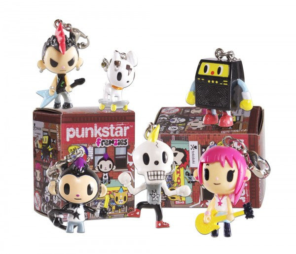 tokidoki - Punkstar Frenzies Phone Charm (Blind Assortment) - The Giant Peach - 1