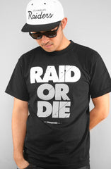 Adapt - Raid or Die Men's Tee Shirt, Black - The Giant Peach