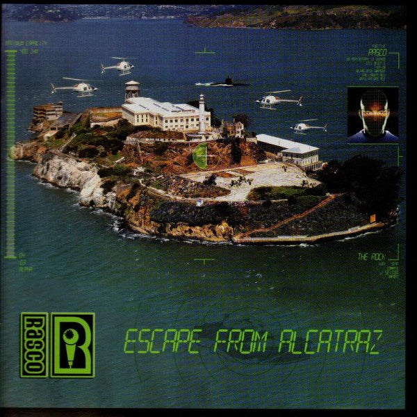 Rasco - Escape From Alcatraz, CD - The Giant Peach