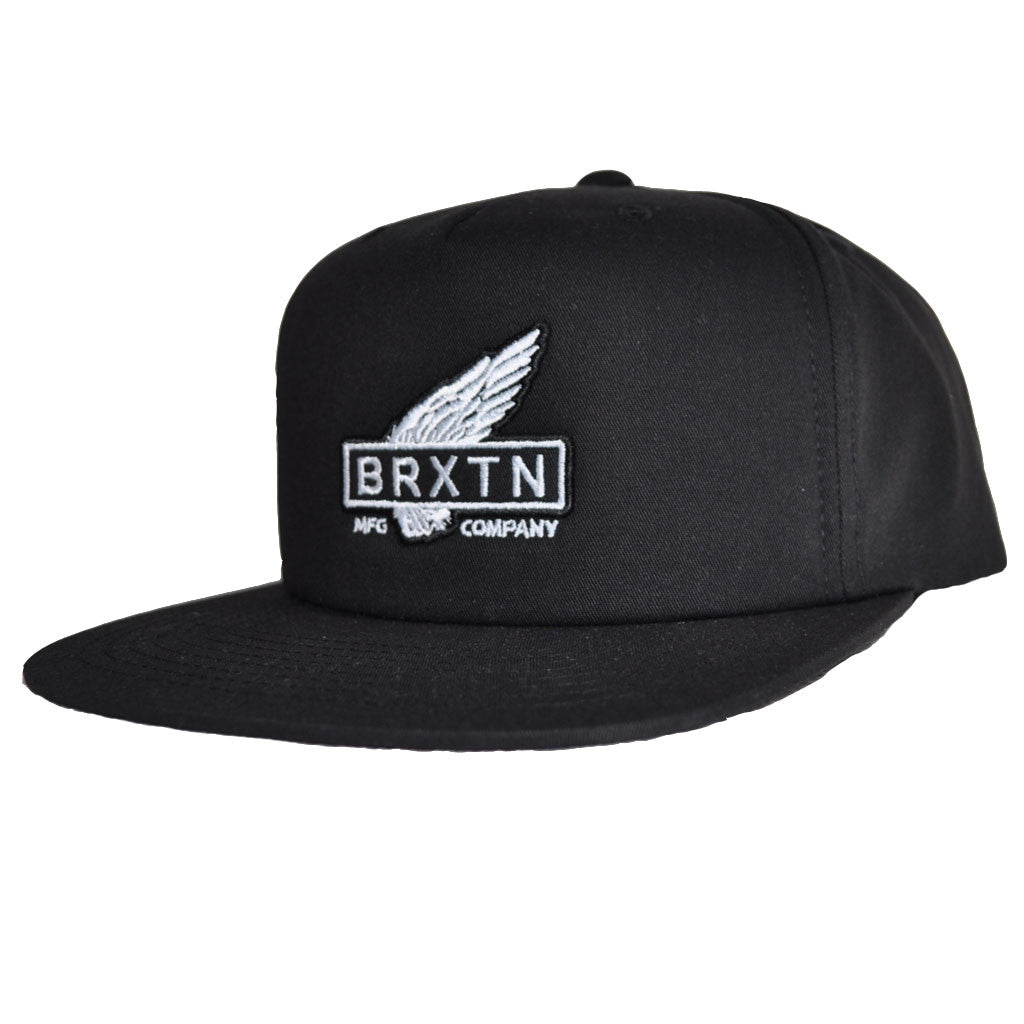 Brixton - Rawlins Men's Snapback, Black - The Giant Peach