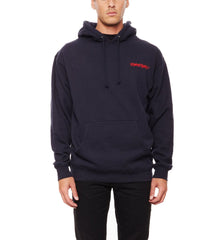 REBEL8 - Death Zap Men's Pullover Hoodie, Navy