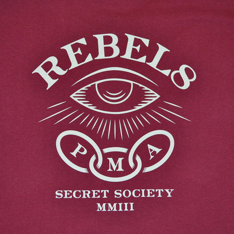 REBEL8 - Foretold Men's Shirt, Burgundy