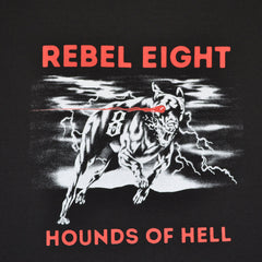 REBEL8 - Hellhound Men's Shirt, Black - The Giant Peach