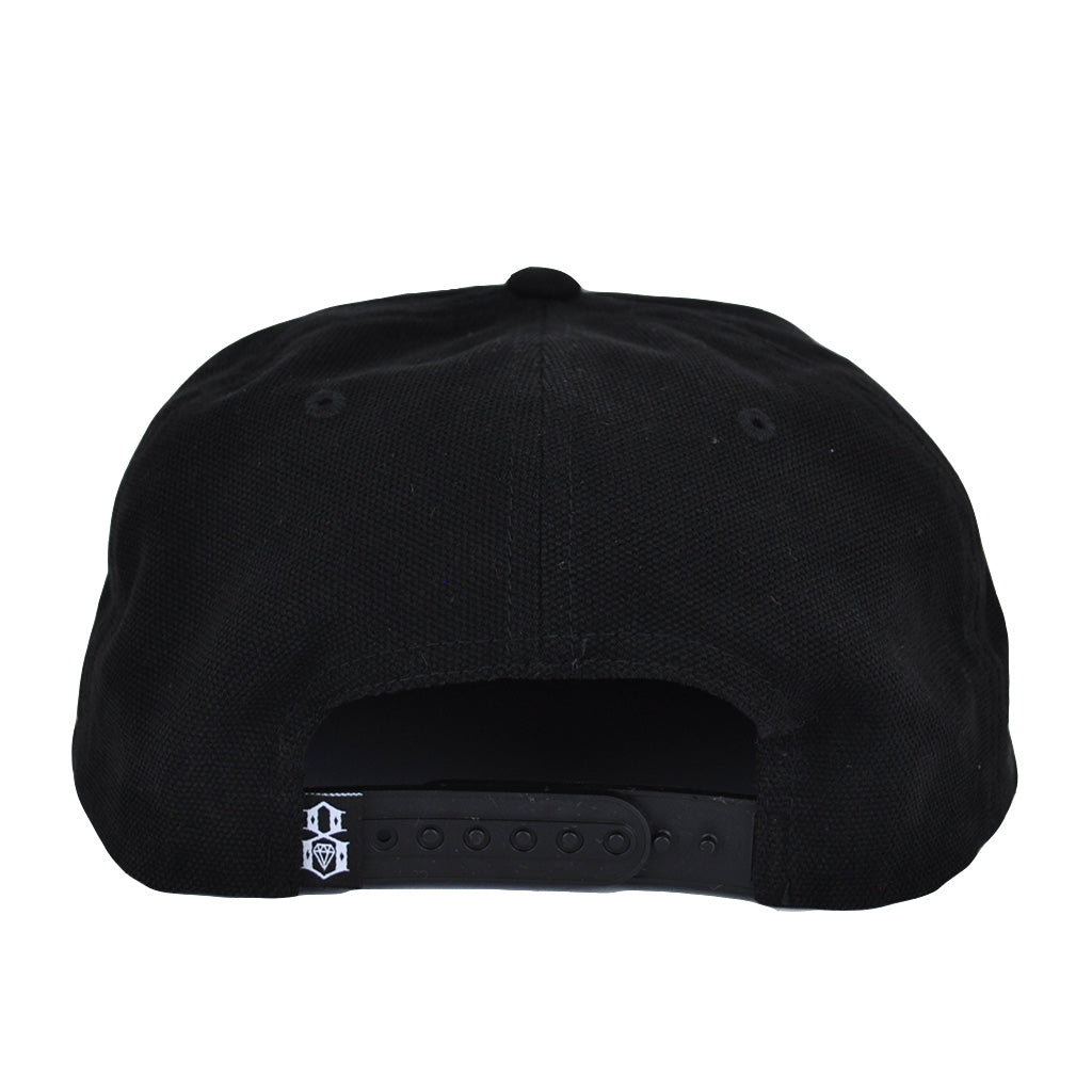 REBEL8 - Pagan Snapback Hat, Black