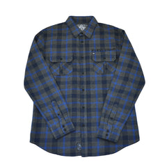 REBEL8 - Scrapper Men's Flannel Shirt, Multi-Colored - The Giant Peach