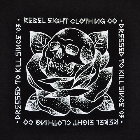 REBEL8 - Stigma Men's Shirt, Black