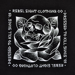 REBEL8 - Stigma Men's Shirt, Black - The Giant Peach
