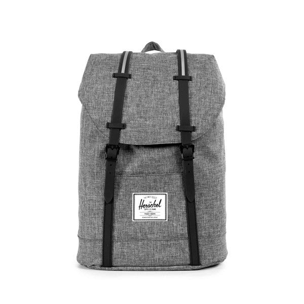 Herschel Supply Co. - Retreat Backpack, Raven Crosshatch - The Giant Peach - 1