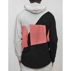 Staple - Retro Men's Hoodie, Heather - The Giant Peach - 3