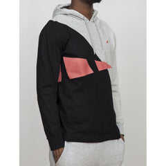 Staple - Retro Men's Hoodie, Heather - The Giant Peach - 2