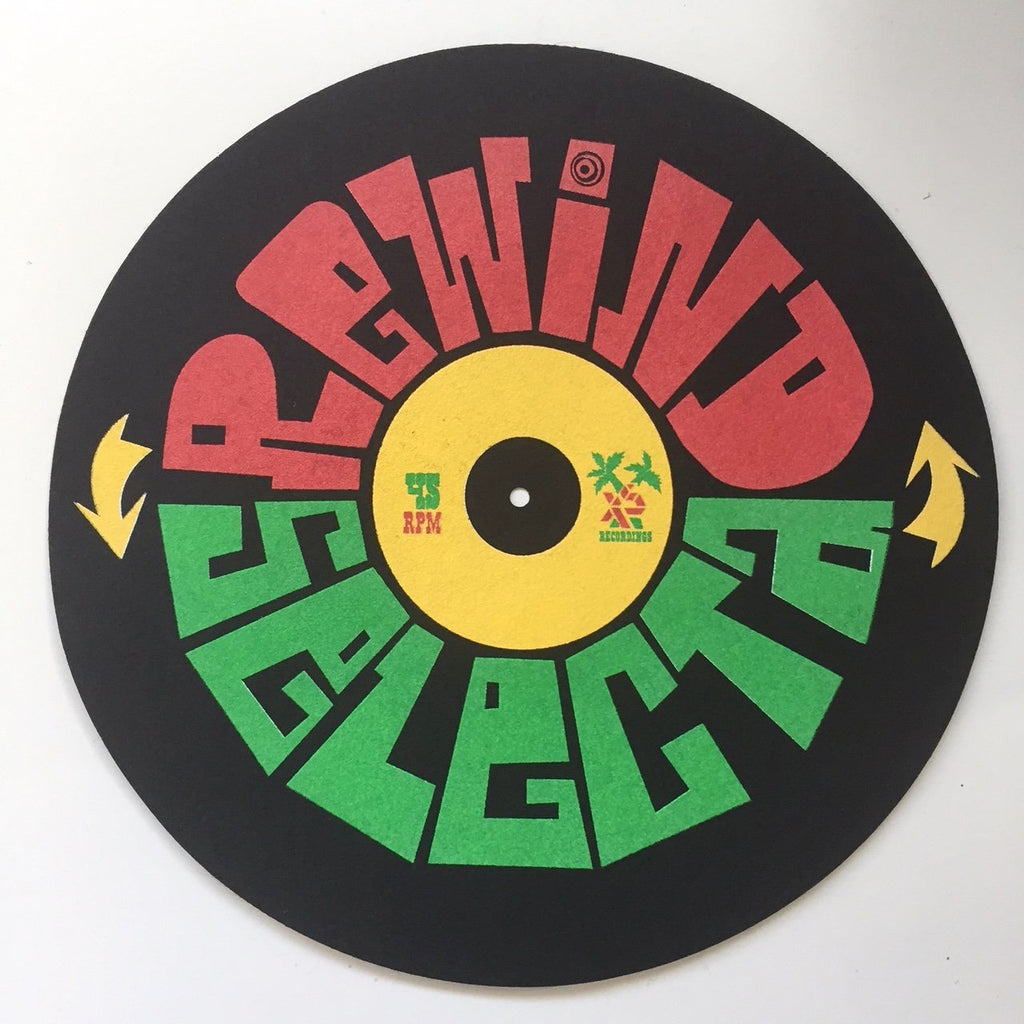 Exact Science - Rewind Selecta Slipmats, Black