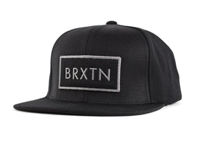 Brixton - Rift Men's Snapback, Black - The Giant Peach