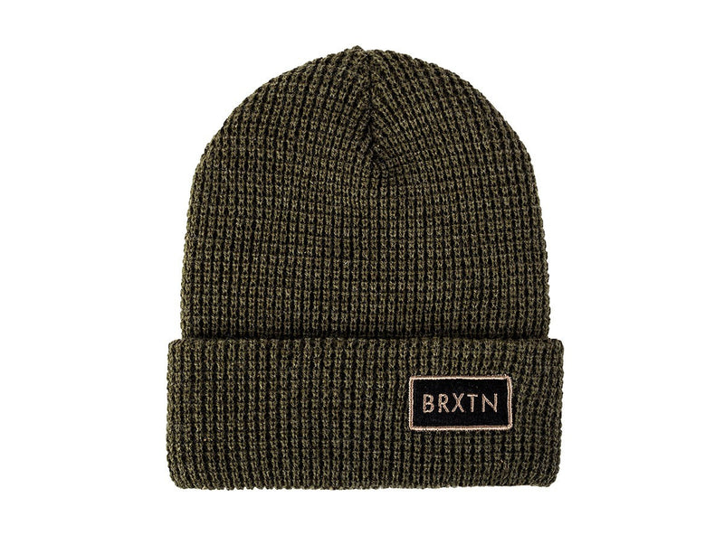Brixton - Rift Men's Beanie, Olive - The Giant Peach