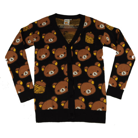 JapanLA - Rilakkuma Cardigan, Black - The Giant Peach - 1