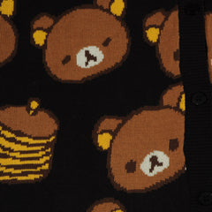 JapanLA - Rilakkuma Cardigan, Black - The Giant Peach - 3