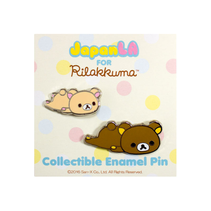 JapanLA - Relaxed Friends Enamel Pin - The Giant Peach