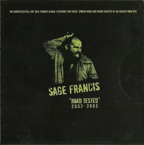 Sage Francis - Road Tested 2003-2005, CD