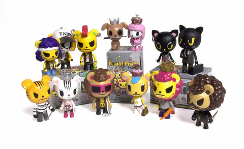 tokidoki - Royal Pride Vinyl Toy Collectibles (Blind Assortment) - The Giant Peach
