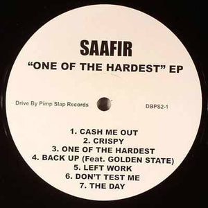 Saafir - One of the Hardest, EP Vinyl - The Giant Peach