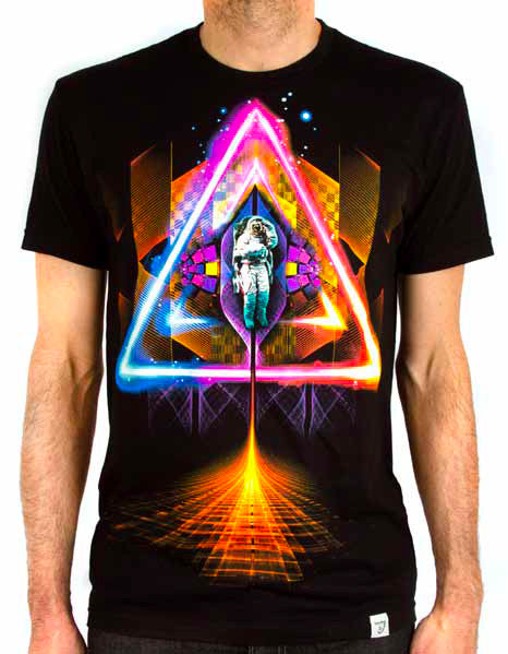 Imaginary Foundation - Sacred Space Men's Tee Shirt, Black - The Giant Peach