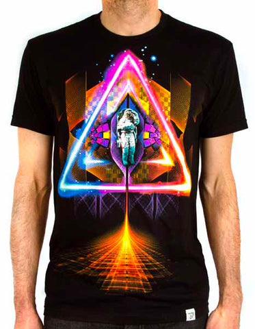 Imaginary Foundation - Sacred Space Men's Tee Shirt, Black