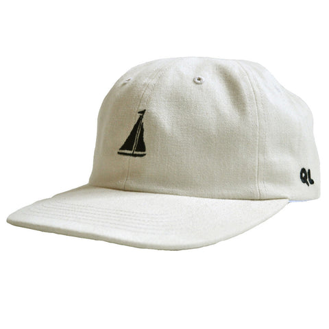 The Quiet Life - Sail Men's Polo Hat, Natural