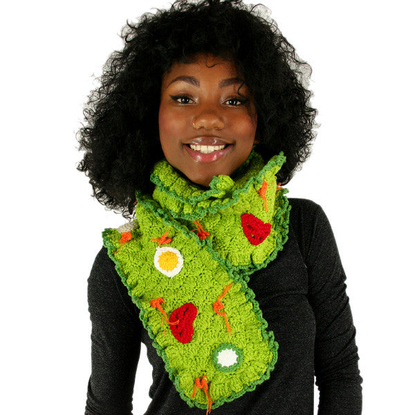Yummy You! by Twinkie Chan - Salad Scarf - The Giant Peach - 1