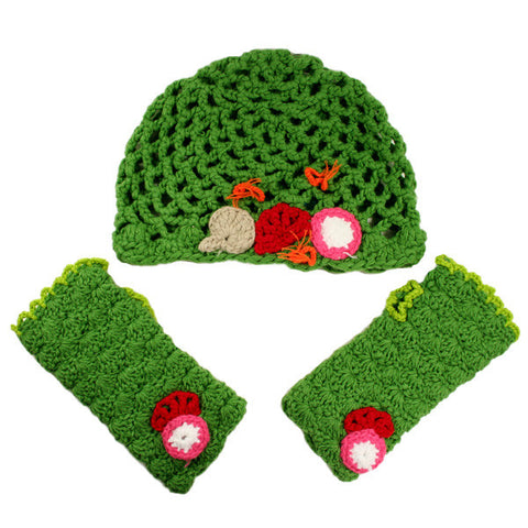 Yummy You! by Twinkie Chan - Salad Set (Hat & Mitts)