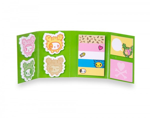 tokidoki - Sandy Cactus Friends Sticky Note Booklet - The Giant Peach - 2