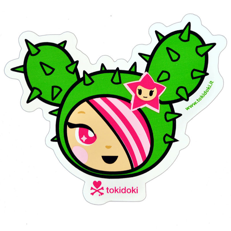 tokidoki - Sandy Sticker, Multi - The Giant Peach