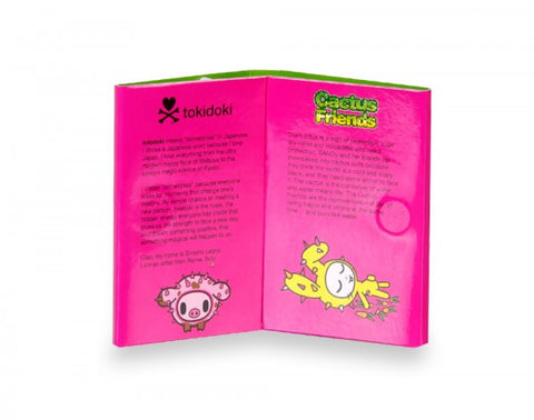 tokidoki - Sandy Cactus Friends Sticky Note Booklet