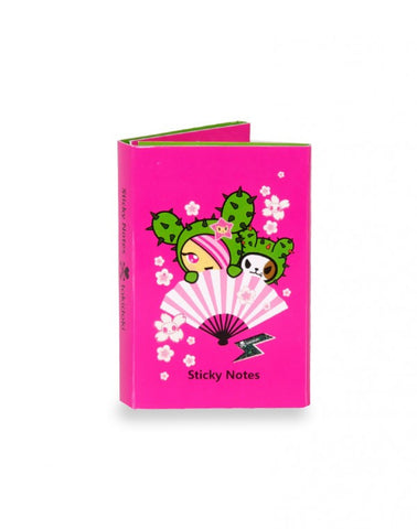 tokidoki - Sandy Cactus Friends Sticky Note Booklet - The Giant Peach