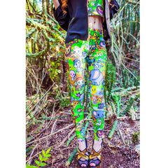 JapanLA x tokidoki Savannah Leggings - The Giant Peach - 2