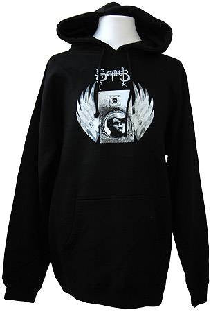 Scarub - Wings Hoodie, Black - The Giant Peach