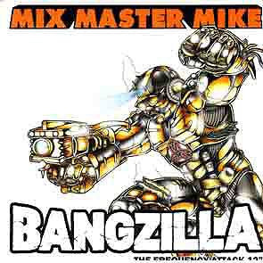 "Mix Master Mike - Bangzilla (The Frequency Attack), 12"" Vinyl - The Giant Peach"