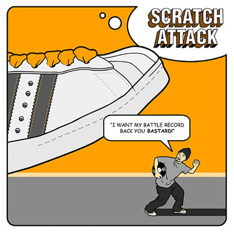 Scratch Attack: I Want My Battle Record Back You Bastard! Vol. 1, CD