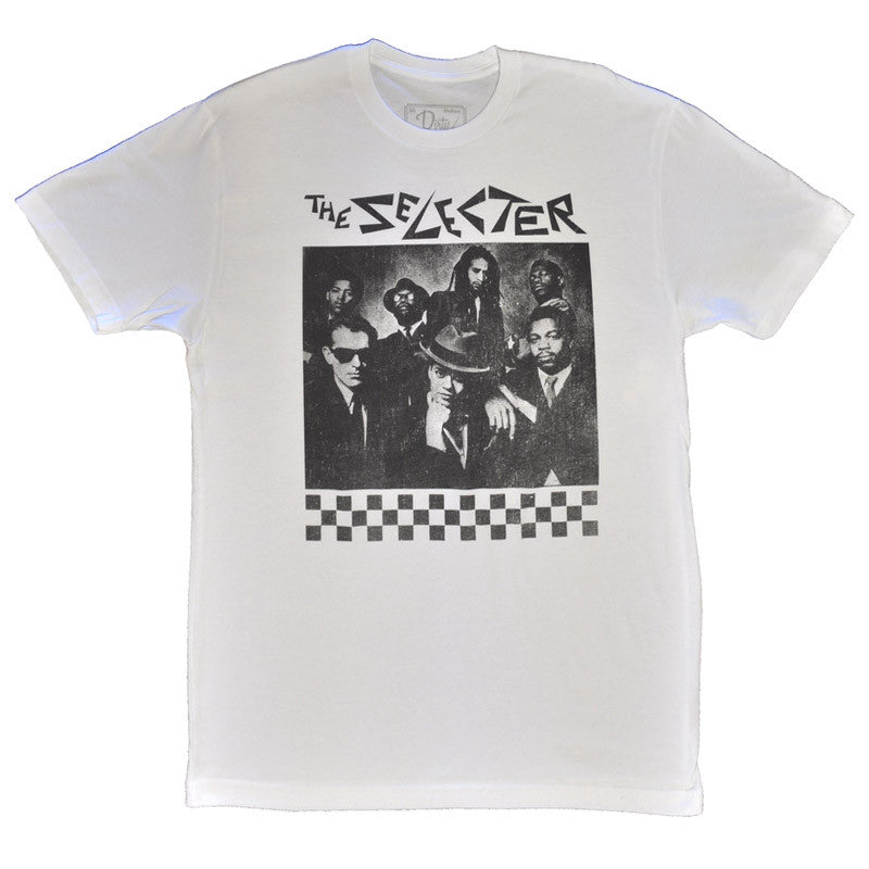 The Selecter - Smash Hits Men's Shirt, White - The Giant Peach
