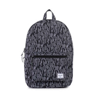Herschel Supply Co. - Settlement Backpack, Black/White Rain Camo - The Giant Peach