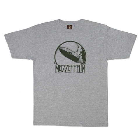 SuperFishal - Med Zep Men's Shirt, Athletic Heather Gray