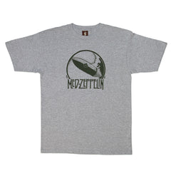 SuperFishal - Med Zep Men's Shirt, Athletic Heather Gray - The Giant Peach - 1