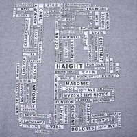 TRUE - Street Signs Men's Shirt, Heather Gray - The Giant Peach