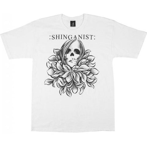 Shinganist - Usugrow Kalla Girl Men's Shirt, White