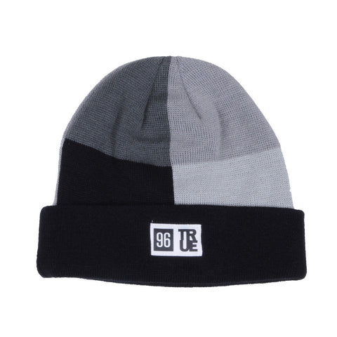 TRUE - Blockhead Beanie Hat, Black - The Giant Peach