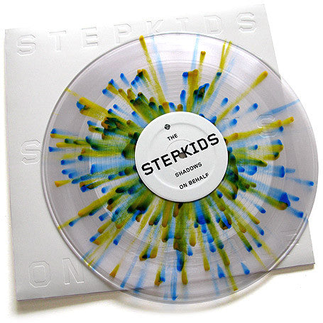 "The Stepkids - Shadows On Behalf,  12"" Multicolored Vinyl"