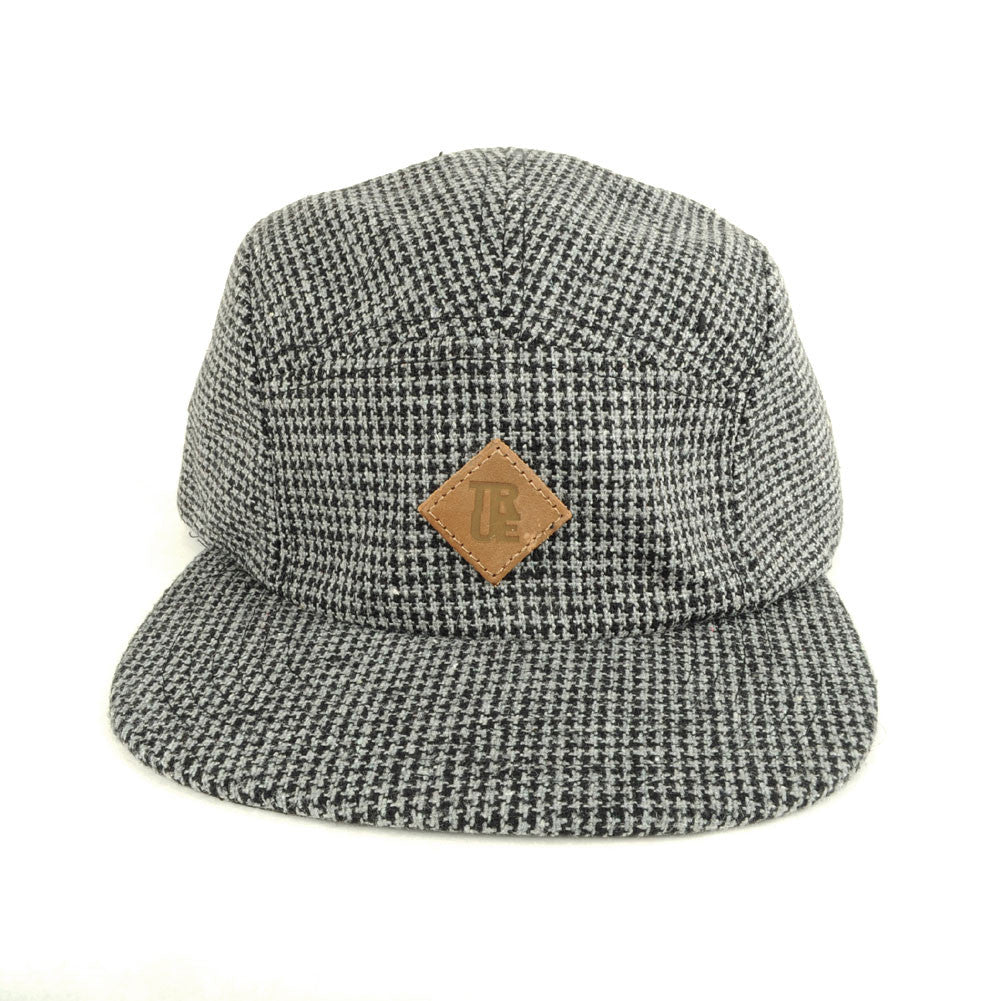 TRUE - Shetland 5 Panel Snapback Hat, Gray - The Giant Peach - 2