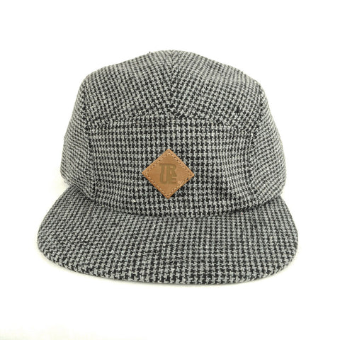 TRUE - Shetland 5 Panel Snapback Hat, Gray