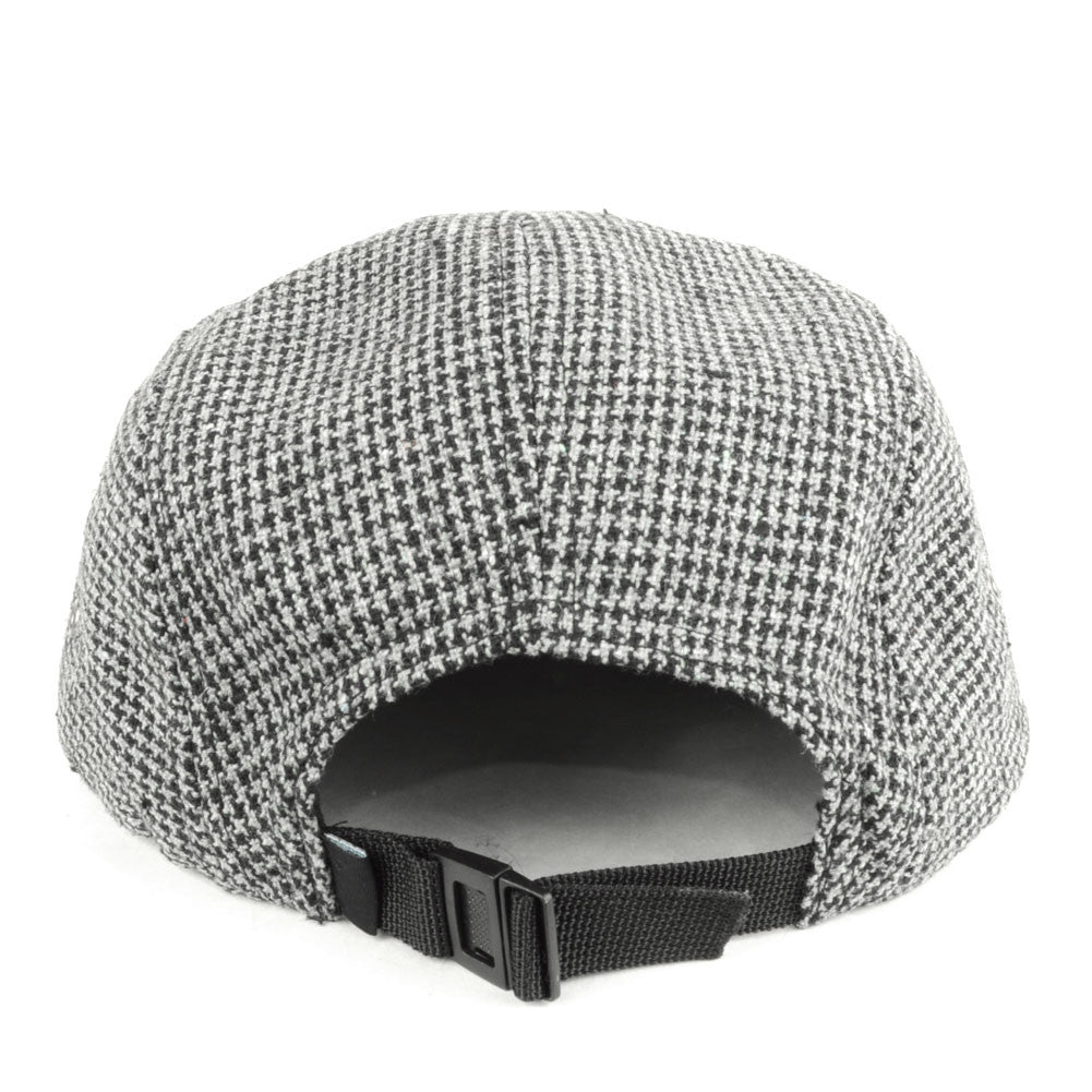 TRUE - Shetland 5 Panel Snapback Hat, Gray - The Giant Peach - 3