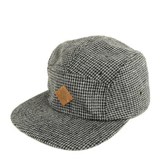 TRUE - Shetland 5 Panel Snapback Hat, Gray - The Giant Peach - 1